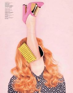 Ina Jang in Jalouse April 2012    Maybe my favorite accessory editorial ever