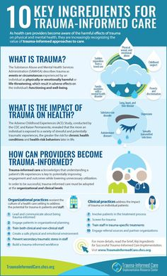 10 Key Ingredients for Trauma-Informed Care - Center for Health Care Strategies health activities health care health ideas health tips healthy meals Mental Health Services, Mental And Emotional Health, Emotional Abuse, Trauma Therapy, Therapy Tools, Slim Waist Workout, Health Activities, Stem Activities, Kids Health