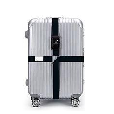 Cotton Scottish Luggage Straps Suitcase Belts Travel Accessories Bag Straps