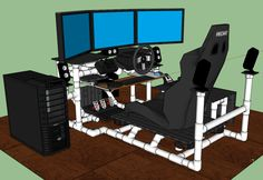 Sim Rig + Gaming Desk / My DIY Racing Rig Project - GTPlanet