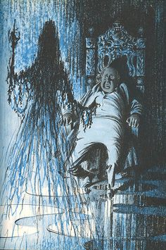 Alfred Hitchcock's Haunted Houseful - illustrated by Fred Banbery