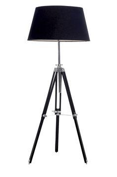 tripod lamp from Ellos Nursery Twins, Nursery Crib, Twin Cribs, Loft House, Camera Tripod, White Houses, Tripod Lamp, Floor Lamp, Interior Decorating