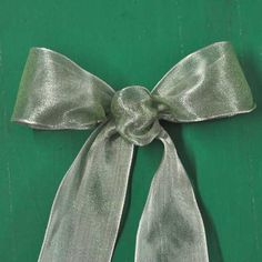 Bows!  Learn How to Make 3 Styles of Bows