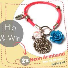 Schrijf je in voor onze nieuwsbrief en maak kans op 1 van de 2 neonroze armbandjes twv € 12,95.