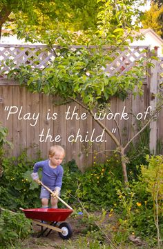 Practical Life activities outside the classroom from Our Montessori Life