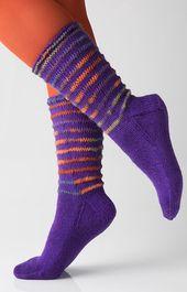 Socken mit Gittermuster by Charles D. Gandy | Schachenmayr