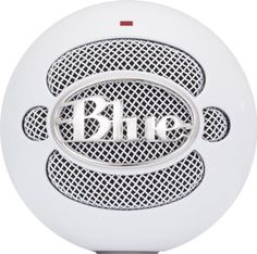 Blue Microphones Snowball USB Microphone (Textured White) - - Create studio-quality recordings with Blue Microphone's Snowball, a USB microphone with exceptional sound-capture capabilities. Using Blue Microphone's awar Blue Snowball Microphone, Best Usb Microphone, Blue Snowball Ice, Blue Microphones, Circuit Design, Audio Equipment, Recording Equipment, Photo Equipment, Cool Things To Buy