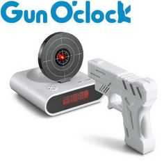 GUN ALARM CLOCK! great gift for the hunter in your life