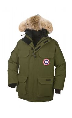 Canada Goose' Men's Expedition Parka M - Military/green