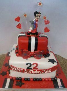 Betty Boop Cake Decoration