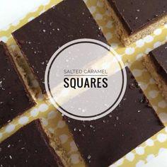 Salted caramel squares (vegan!) http://wateetjedanwel.nl/salted-caramel-squares-vegan/