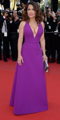 The Best of the 2015 Cannes Film Festival Red Carpet - Salma Hayek Pinault from #InStyle
