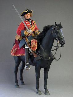 18th Century A British Dragoon 1743 . - OSW: One Sixth Warrior Forum