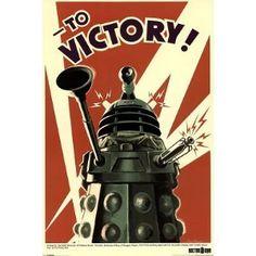 (24x36) Doctor Who Dalek To Victory TV Poster Print (Kitchen) http://www.amazon.com/dp/B004XD1DO2/?tag=wwwmoynulinfo-20 B004XD1DO2