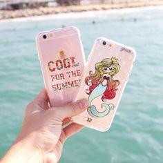 Sereiando. {cases: cool for the summer é rainha do mar}  [FRETE GRÁTIS A PARTIR DE DUAS CASES]  #gocasebr #instagood #iphonecase #sereia #summer #demilovato #minhagocase
