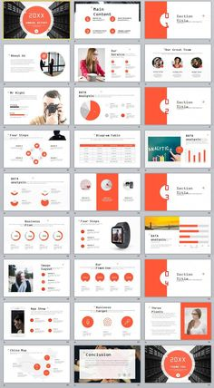 The exciting Red Company Annual Report Powerpoint Templates Company Profile Template, Company Profile Design, Presentation Deck, Corporate Presentation, Presentation Styles, Graphisches Design, Slide Design, Graphic Design, Red Company