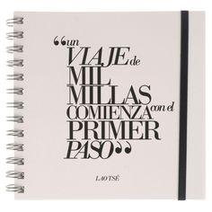 Cuaderno con frase original - Lao Tse Home Decor, Amor, Original Quotes, Writers, Day Planners, Buddhism, Illustrations, Decoration Home, Room Decor