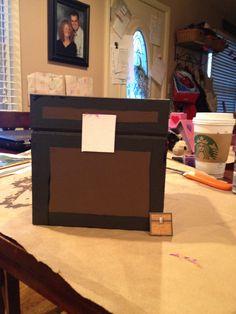 Minecraft valentine box by Parker