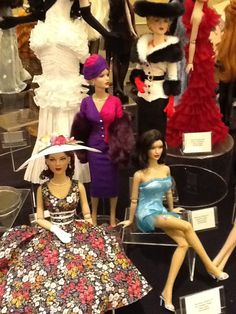 Dolls from the 2013 West Coast Event