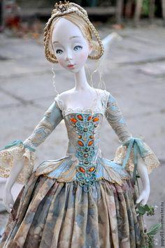 Коллекционные куклы ручной работы. Ярмарка Мастеров - ручная работа Авторская кукла Ноктюрн. Handmade.