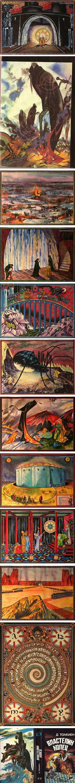 Medieval style Tolkien illustrations by Sergei Iukhimov