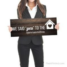Real Estate Marketing Ideas Discover Sold by Sign - Real Estate Testimonial Prop - - different design on each side - thick White PVC Hard Plastic - FREE UPS shipping Real Estate Gifts, Real Estate Quotes, Real Estate Career, Real Estate Humor, Real Estate Office, Selling Real Estate, Real Estate Business Cards, Real Estate Slogans, Realtor Business Cards