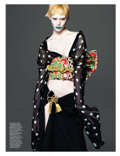 Asian Opulence Editorials - The W Magazine East of Eden Photoshoot Displays Oriental Styles (GALLERY)