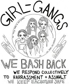 Hollaback: We Bash Back! We Are Everyone, We Are Everywhere #feminist