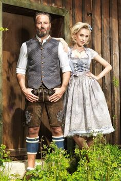 pants, vests and traditional costumes Oktoberfest Costume, Traditional Fashion, Traditional Dresses, Sound Of Music Costumes, German Fashion, Textiles, Retro Outfits, Get Dressed, Outfits