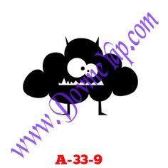 Çizgi Karekter Geçici Dövme Şablon Örneği Model No: A-33-9