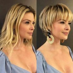 Feminine Pixie Haircuts Ideas for Women in 2020 Year Feminine. - Feminine Pixie Haircuts Ideas for Women in 2020 Year Feminine Pixie Haircuts Ide - Short Thin Hair, Short Hair With Layers, Short Hair Cuts For Women, Short Hairstyles For Women, Short Hair Styles, Short Blonde, Trendy Hairstyles, Blonde Hair, Pixie Bob Haircut