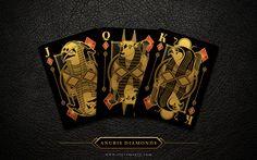 Anubis & Osiris Luxury Playing Cards by Steve Minty by Steve Minty — Kickstarter