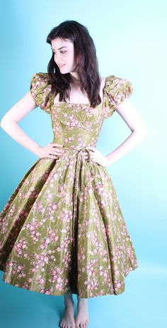1950s Cocktail Dress- I want to make one JUST like it