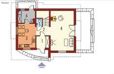 proiecte de case cu mansarda sub 100 de metri patrati Attic houses under 100 square meters 10
