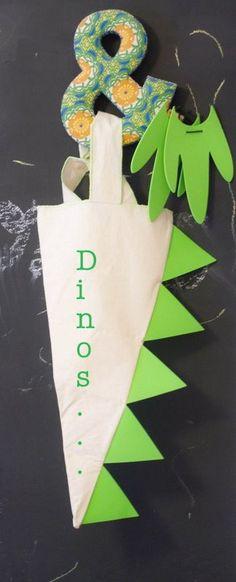 Taller de creación de Disfraz Dino! Bajo el cielo hay... Dino Dinosaurios Mandarina!!!