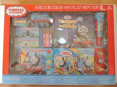 Thomas and Friends Deluxe Read and Play Gift Set - Makes a Great Christmas Gift! ** You can get additional details at the image link.