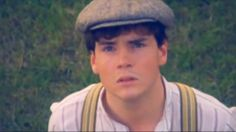 Gilbert Blythe, when Anne is walking on the roof.