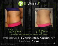 Check out these amazing results! Are you tightening, toning, and firming your skin this #Wraptober? #CrazyWrapThing