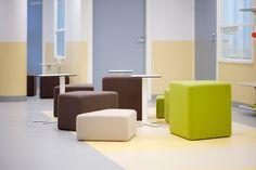 Kivikko-istuinpalojen sisus valmistetaan ympäristöystävällisesti huonekaluteollisuuden ylijäämämateriaaleista.