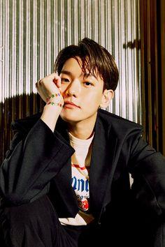 "Snow Haeven~ [Baekhyun: The Mini Album ""딜라이트""(Delight)] Baekhyun Chanyeol, Luhan And Kris, Exo Official, Fandom, Korean Boy, Kpop Exo, Exo Members, Gu Family Books, Chanbaek"