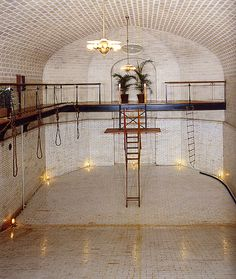 Vanderbilt library biltmore estate asheville north carolina great libraries of the world for Biltmore estate indoor swimming pool