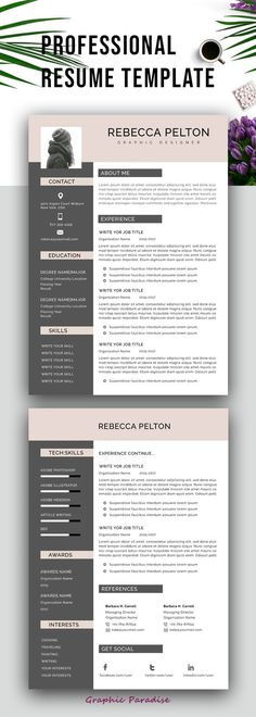 30 Best Graphic Designer Resume Images Resume Design Cover Letter