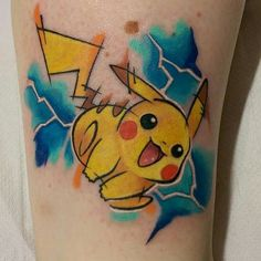 I want this tattoo! I ❤ Pikachu
