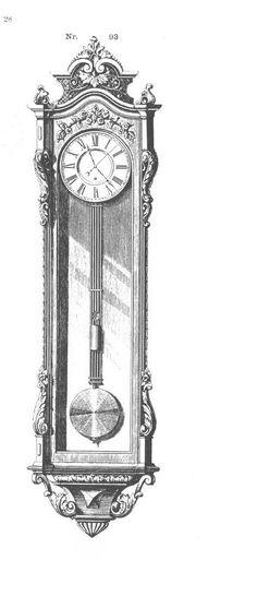 Pendulum Clock, Embroidered Clothes, Clocks, Ink, Future, Antiques, Clothing, Antiquities, Kleding