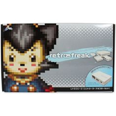 Retro Freak Standard * In stock, usually ships within 24hrs * Supports Games for 11 Legacy Consoles! * HDMI output and 720p upscaling * Transfer Original cartridge Data into SD Card For a Digital Archive * Advanced Emulator Options including multiple save states, filters, cheat codes, and more! * Upgradeable firmwareTime to play all the games! This incredible device from Cyber Gadget claims to to support original games from the Famicom, SNES, Mega Drive/Genesis, PC Engine, TurboGrafx-16…
