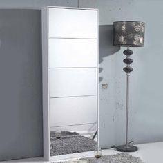 LivingSocial Shop: Mirrored Shoe Cabinet    OMGGGGGG
