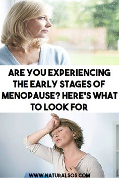 ARE YOU EXPERIENCING THE EARLY STAGES OF MENOPAUSE? HERE'S WHAT TO LOOK FOR… Are You Experienced, Hormone Balancing, Menstrual Cycle, Medicinal Plants, Natural Medicine, Chronic Illness, Easy Cooking, Genetics, Fertility