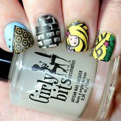 #Nailstorming // Contes de Fées by I'm A Nail Art Addict!