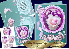 love  on Craftsuprint designed by Terri Hawley - This is a great card to let some one know you love them. Could be birthday, anniversary, valentines day, or just because