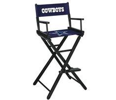 Dallas Cowboys NFL Bar Height Director's Chair